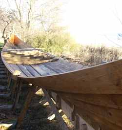 Another Viking Longship is launched near Roskilde