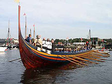 The Worlds largest viking ship