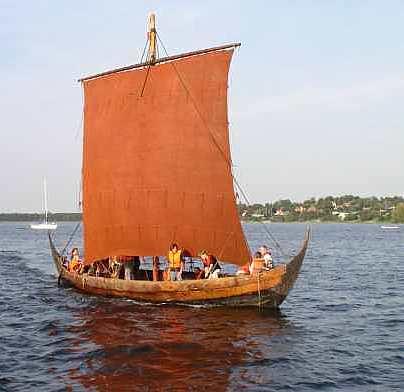 Sif Ege Viking Ship, Frederikssund, Denmark